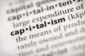 Dictionary Series - Economics: capitalism — Stock Photo