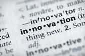 Dictionary Series - Science: innovation — Stock Photo