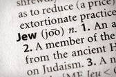 Dictionary Series - Religion: Jew — Stock Photo
