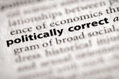 Dictionary Series - Misc: politically correct — Stock Photo