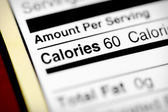 Low in calories — Stock Photo