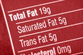 高脂肪 — 图库照片
