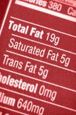 Wysokiej zawartości tłuszczu — Zdjęcie stockowe