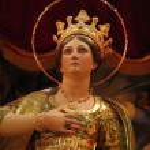 Saint Catherine of Alexandria — Stock Photo