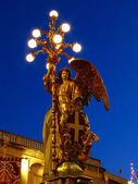 The Angel With The Lights — Stock Photo