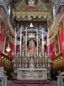 O altar-mor — Foto Stock