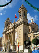 The Basilica of Senglea — Stock Photo