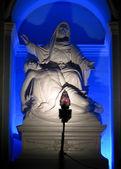 La Pieta In Blue — Stock Photo