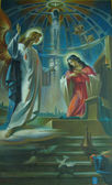 The Annunciation — Stock Photo