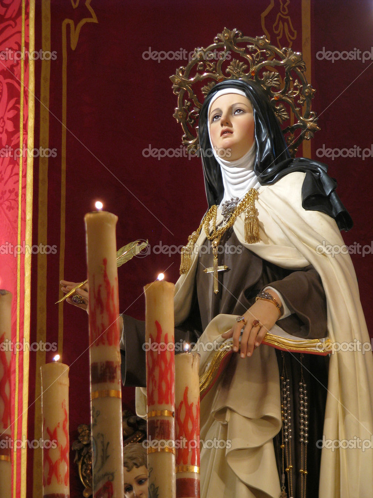 "teresa of avila 2018/03/31 biography and life st teresa of avila (1515-1582) was a carmelite nun and a spanish mystic she is also known as ""st teresa of jesus"" or the ""great st teresa"" to distinguish her from another carmelite nun, st."
