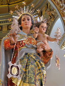 Our Lady of Mount Carme — Stock Photo