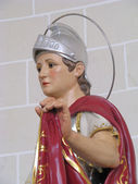 Saint Martin of Tours — Stock Photo
