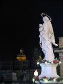 Maria Santissima nella notte — Foto Stock