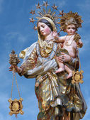 Matka boża z góry karmel — Zdjęcie stockowe