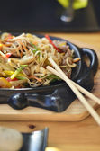 Noodles with vegetables — Foto de Stock