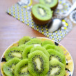 Sliced kiwi — Stock Photo