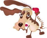 Dog grooming — Stock Vector
