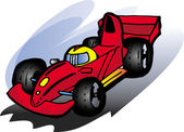 F1 car — Stock Vector