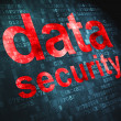 Privacy concept: Data Security on digital background - Stockfoto