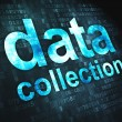 Stock Photo: Information concept: DatCollection on digital background