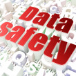 Royalty-Free Stock Photo: Information concept: Data Safety on alphabet
