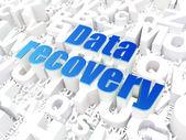 Informatie concept: Data Recovery op alfabet — Stockfoto