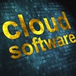 Cloud computing technology, networking concept: Cloud Software o — Foto Stock #19722711