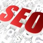 SEO web development concept: SEO on alphabet — Stock Photo