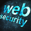 Stock Photo: SEO web design concept: Web Security on digital background