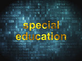 Education concept: Special Education on digital background — Stok fotoğraf