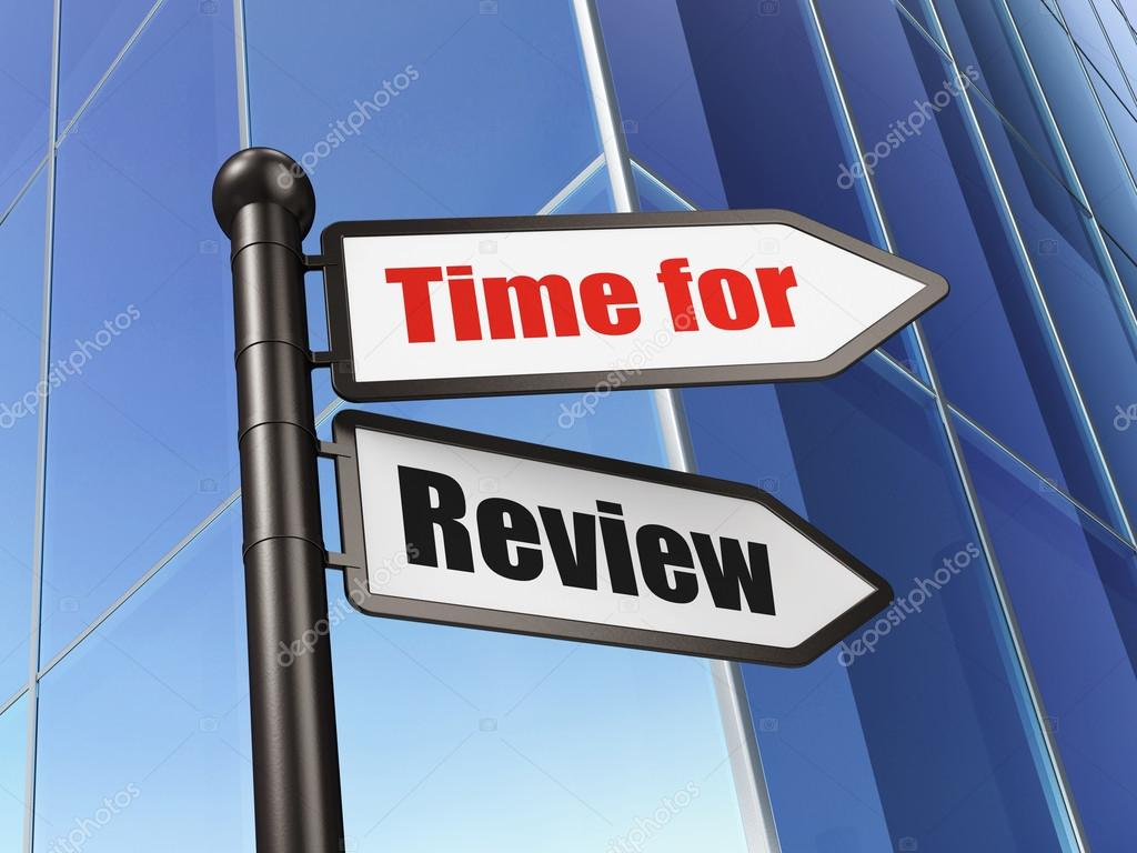 Timeline concept time for review on building background for House builder reviews