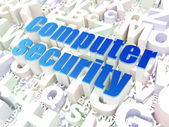 Security concept: Computer Security on alphabet background — Stock Photo