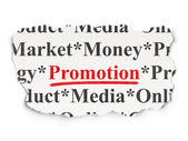 Marketing concept: Promotion on Paper background — Stock Photo