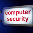 Security concept: Computer Security on billboard background — Stock Photo #26281793