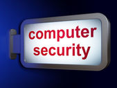 Security concept: Computer Security on billboard background — Stock Photo