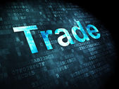 Business concept: Trade on digital background — Stock Photo
