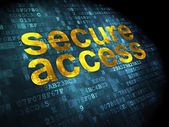 Protection concept: Secure Access on digital background — Stock Photo