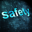 Protection concept: Safety on digital background — Stock Photo #28850439