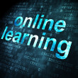 Stock Photo: Education concept: Online Learning on digital background