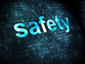 Protection concept: Safety on digital background — Stock Photo