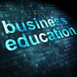 Foto de Stock  : Business Education on digital background