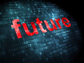 Timeline concept: Future on digital background — Stock Photo