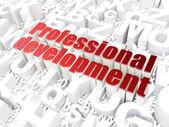 Education concept: Professional Development on alphabet backgrou — Stock Photo
