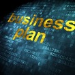 Business concept: Business Plan on digital background — Stock Photo #29097813