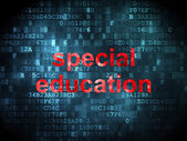 Education concept: Special Education on digital background — Foto de Stock