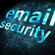 Security concept: Email Security on digital background — Stock fotografie