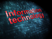 Informationen-Konzept: Informationstechnologie auf digitale Backgroun — Stockfoto