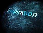 Marketing concept: Inspiration on digital background — Foto de Stock