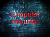 Protection concept: Computer Security on digital background — Stockfoto
