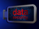 Security concept: Data Security on billboard background — Stok fotoğraf